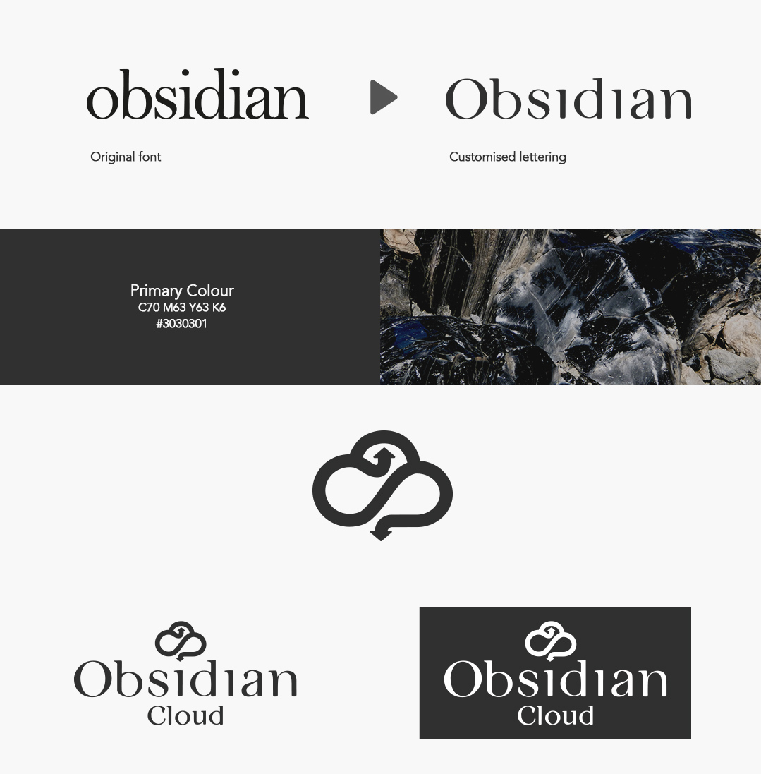 Obsidian Cloud designed by pyrus services