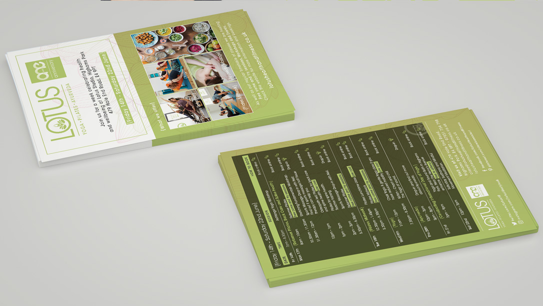 lotus health and fitness designed by pyrus services
