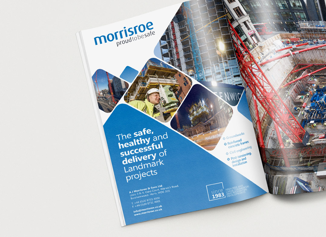 morrisroe Construction News Awards Advert