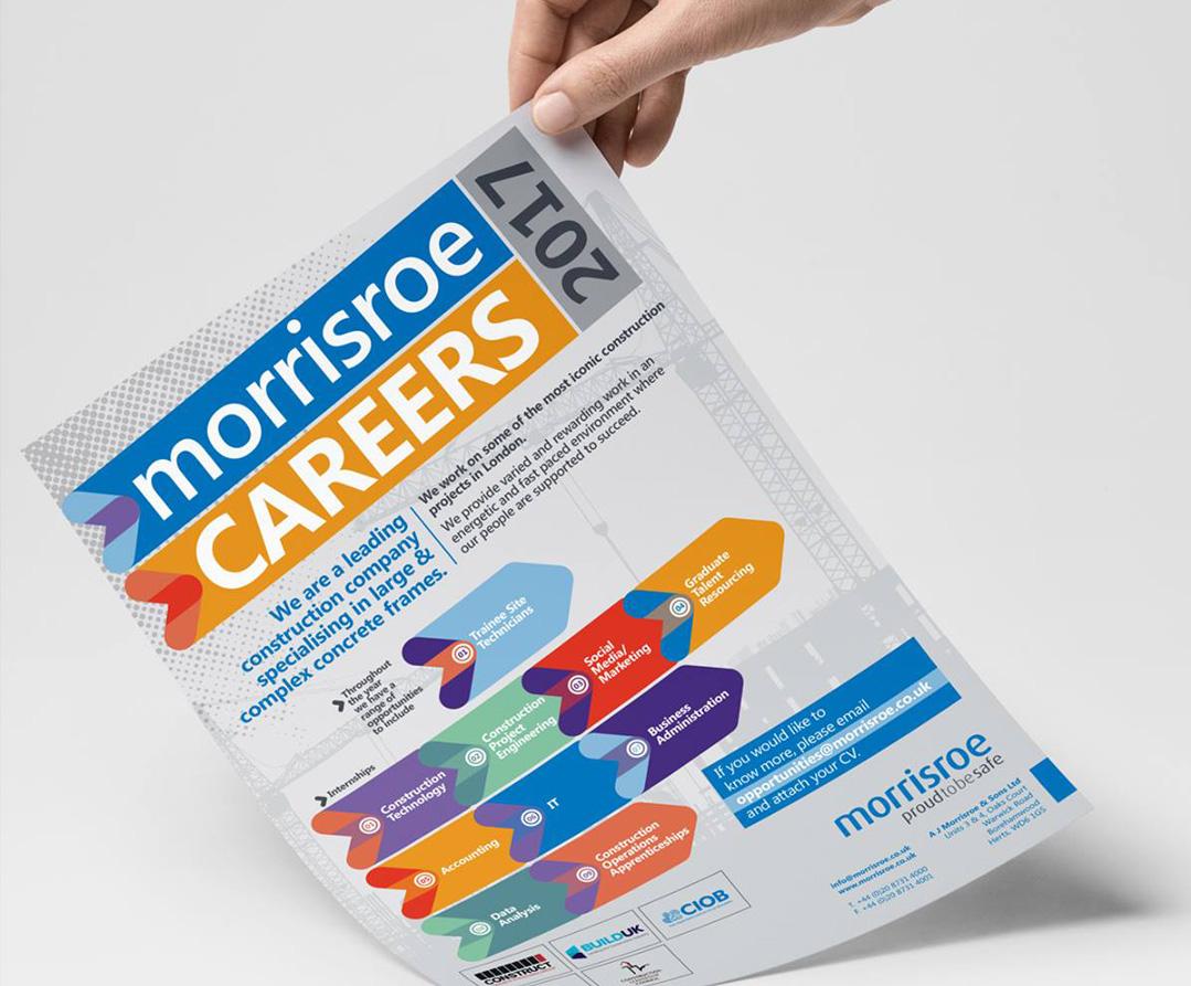 morrisroe Careers fayre leaflet