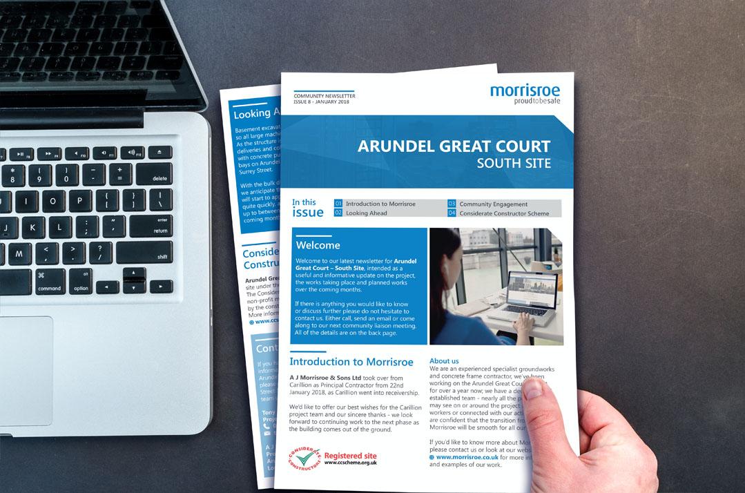 morrisroe and google tendering