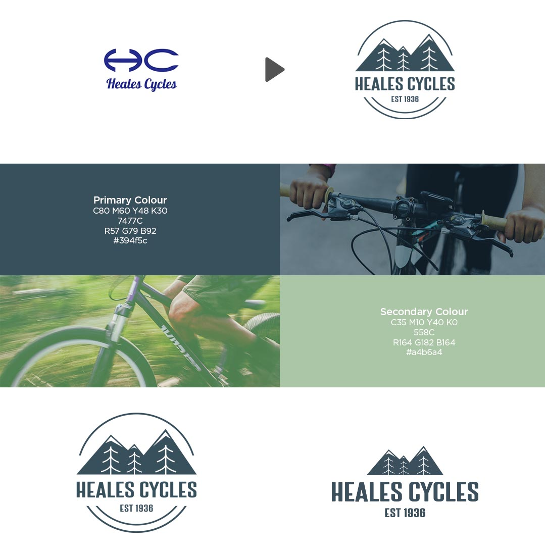Heales cycles logo