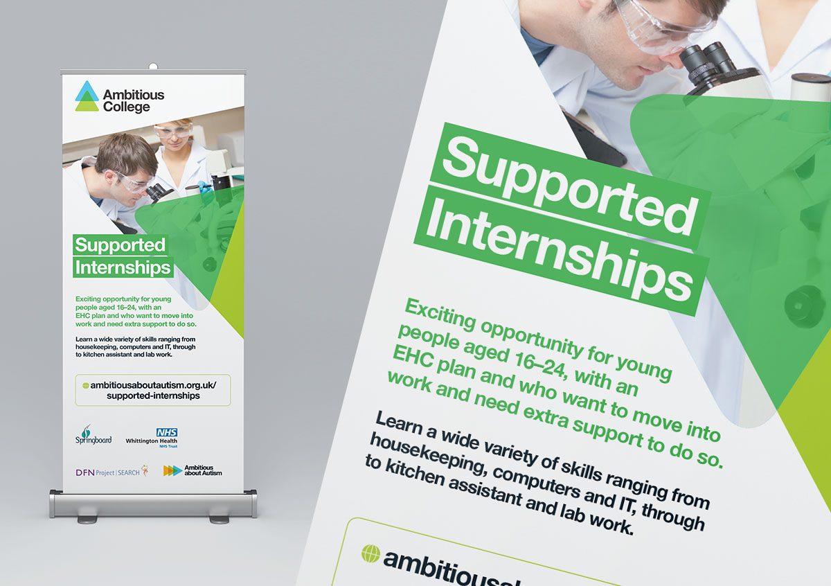 Ambitious College supported internships