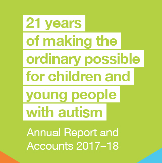 ambitious about autism annual report 2017-18