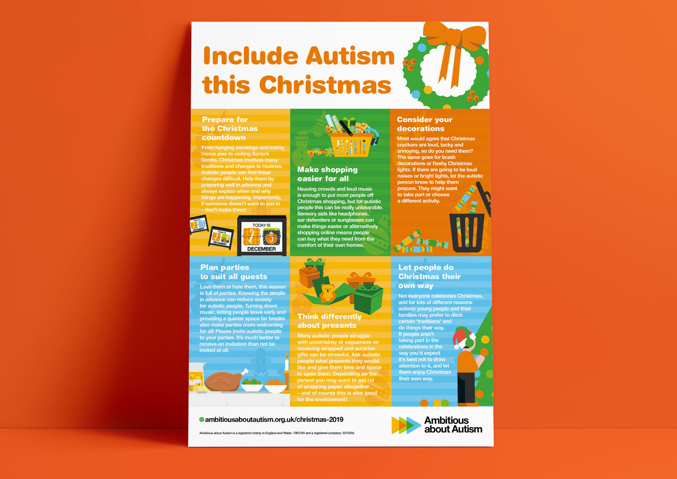 Ambitious about autism Christmas campaign 2019