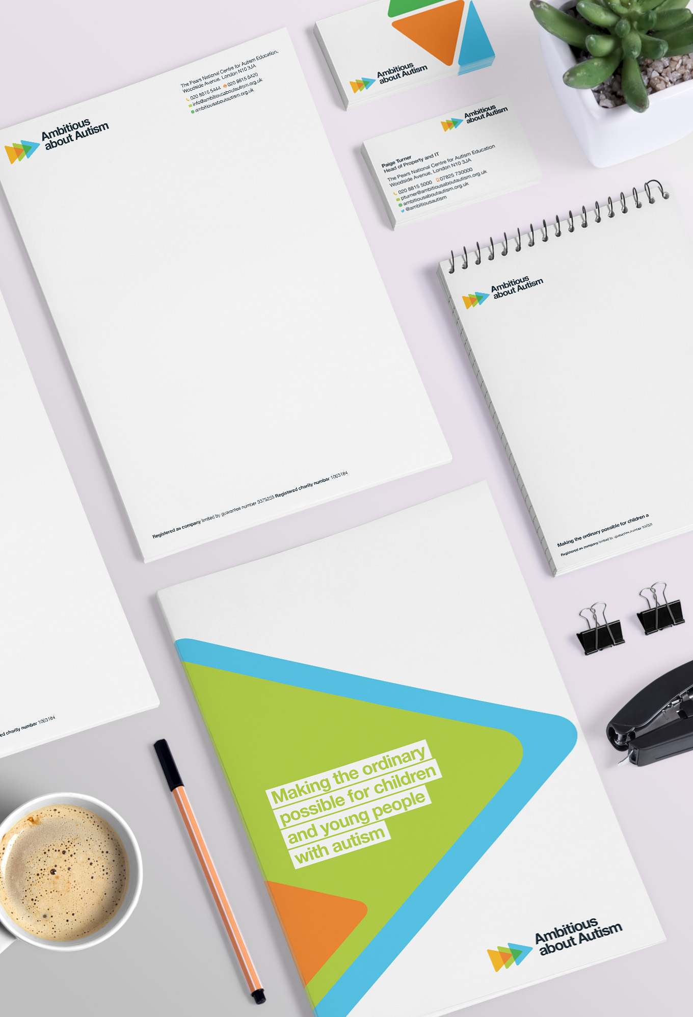 Ambitious about Autism brand refresh