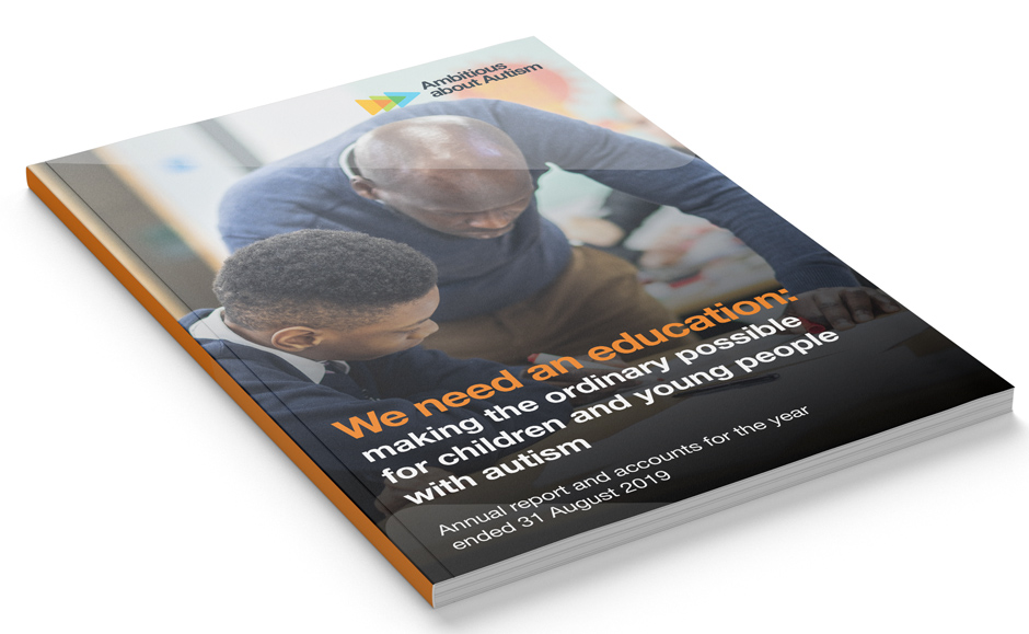 Ambitious about autism annual report 2019
