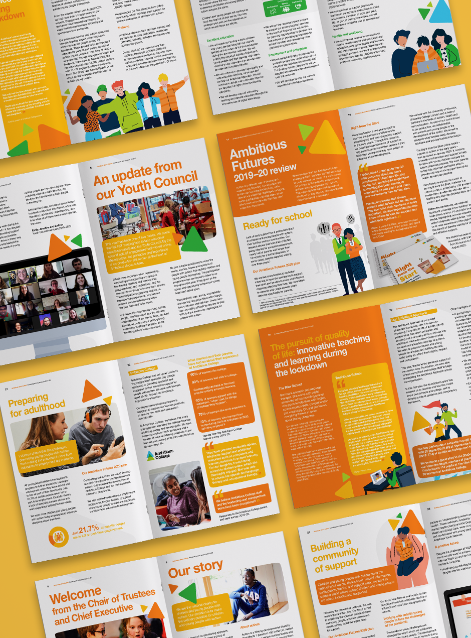 Ambitious about autism annual report 2020